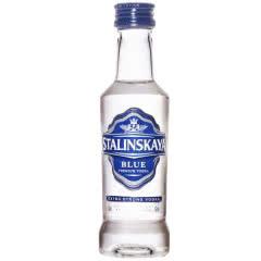【小酒版】45°罗马尼亚普达皇冠(蓝标)伏特加50ml
