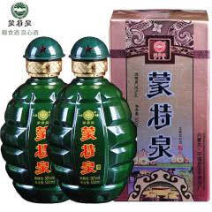 36°内蒙古蒙特泉地雷瓶酒粮食酒 浓香型白酒异形瓶口粮酒 500ml(2瓶)