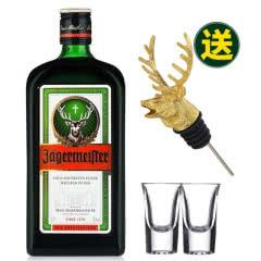 35°德国野格(圣鹿)利口酒力娇酒洋酒700ml赠金色鹿头+子弹杯*2