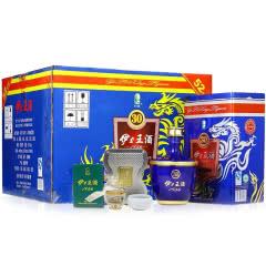 伊力特白酒52度伊力王蓝王500ml铁盒装浓香型单瓶 6瓶整箱