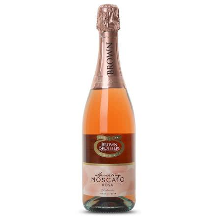 澳洲原瓶进口 布朗兄弟/布琅兄弟甜型葡萄酒 莫斯卡托桃红起泡葡萄酒 单支 750ml