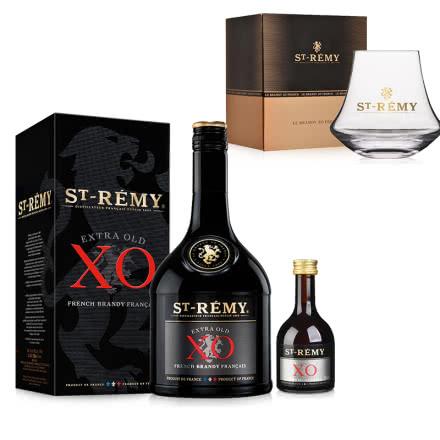40°法国圣雷米XO 白兰地700ml 法国原瓶进口洋酒君度集团品质白兰地