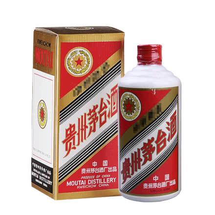 53°贵州茅台酒五星铁盖(1994年老酒)500ml单瓶装