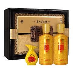 52°贵王府贵州茅台镇万年鸿运礼盒装浓香型白酒500ml*2
