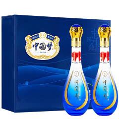 乾御中国梦(蓝色至尊)浓香型白酒500ml52度高档礼盒升级版