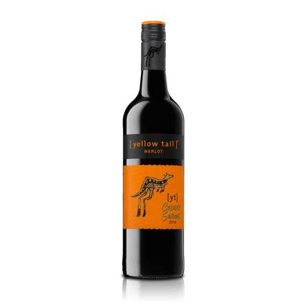 澳大利亚黄尾袋鼠缤纷系列梅洛红葡萄酒750ml