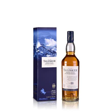 45.8°英国泰斯卡10年单一麦芽威士忌 200ml