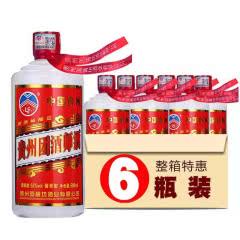 53°团酒师贵州酱香型白酒原浆老酒500ML*6