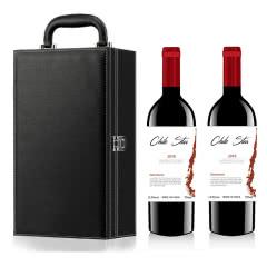 智利进口智利经典佳美娜干红葡萄酒双支礼盒装750mlx2