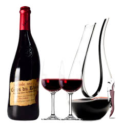 法国原瓶进口红酒教皇新堡芙华安赛伦AOC级干红葡萄酒单支装750ml