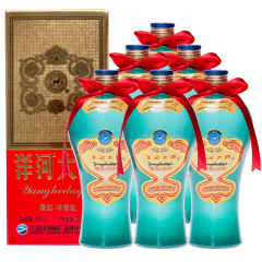 38度洋河大曲酒天蓝500ml(6瓶装)