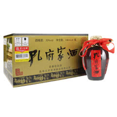 39°孔府家浓香型白酒大陶酒140ml*6 整箱装