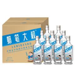 52度泸州蜡笔大叔500ml*9固态发酵高度白酒浓香型光瓶试饮白酒高粱酒