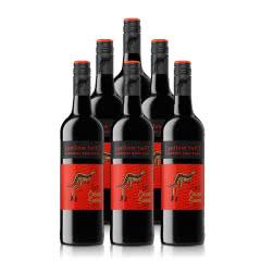 澳大利亚整箱红酒黄尾袋鼠缤纷系列加本力苏维翁红葡萄酒750ml*6
