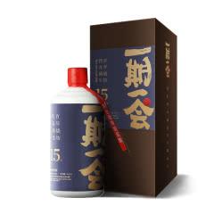 53° 一期一会 酱典-拾伍 酱香型白酒 500ml