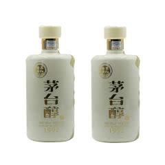 53° 茅台醇 (1992)500ml*2 双瓶装