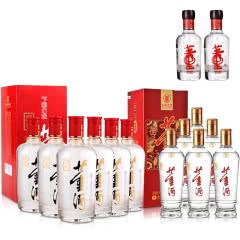 54°红色经典董酒500mlX6+38°新贵董酒500mlX6+46°董酒(100)100ml(乐享)X2
