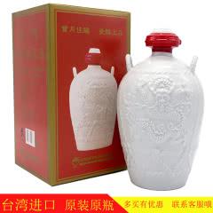 58°金门高粱酒坛装台湾纯粮食白酒礼盒1000ml/瓶