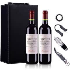 法国拉菲罗斯柴尔德尚品波尔多法定产区红葡萄酒750ml*2 (DBR行货)(双支礼盒装)