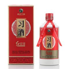 53度贵州习酒 红习酱500ml单瓶装酱香型