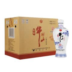 牛栏山北京二锅头 白酒整箱 清香型纯粮食酒 52度典藏十 500ml*6瓶