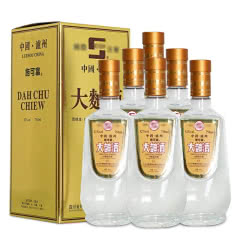 【老酒特卖】52°泸州施可富大曲酒750ml(6瓶装)(2006年)收藏老酒