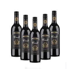 澳大利亚夏迪族徽2015西拉干红葡萄酒750ml*6