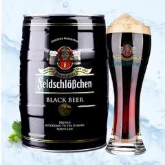 德国进口费尔德堡黑啤酒5L桶装