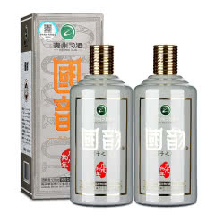 53°茅台集团习酒公司国韵生肖戊戌狗年礼盒装酱香型白酒整箱特价500mL2瓶送礼酒水