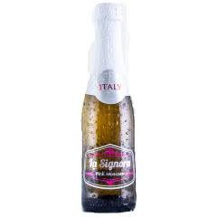 意大利原瓶进口红酒赛罗拉LA SIGNORA低醇香槟气泡酒起泡酒甜白葡萄酒200ml