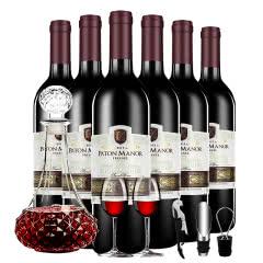 帕桐庄园菲尼尔甜红葡萄酒 750ml*6整箱装 送酒具六件套