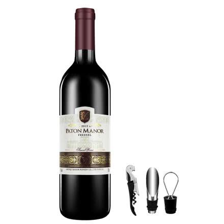 帕桐庄园菲尼尔甜红葡萄酒 750ml 送酒具三件套