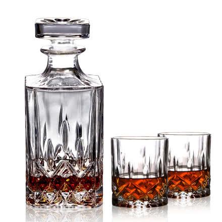 进口白兰地专用磨砂酒具(一樽两杯)