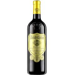 法国原瓶原装进口红酒玛莎内金樽浮雕加重瓶干红葡萄酒750ml单瓶装