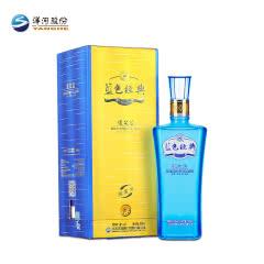 42° 洋河 蓝色经典 邃之蓝 500ml 浓香型白酒 单瓶装