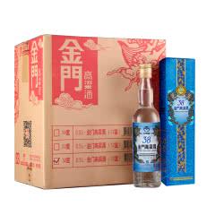 38°金门高粱酒蓝金龙台湾白酒整箱500ml(12瓶装)