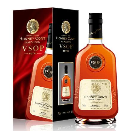 40° 法国进口正品洋酒霍尼康帝拿破仑VSOP白兰地(白标) 700ml单瓶装