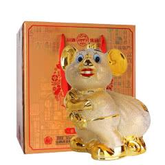53°汾酒杏花村白酒礼盒 庚子鼠年造型(金鼠献福)1500ml
