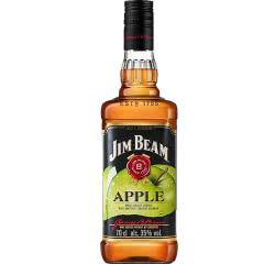 35°金宾(Jim Beam)波本威士忌苹果味力娇酒700ml