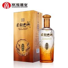 42° 双沟 柔和双沟(金)浓香型 白酒 450ml*1 单瓶装