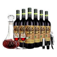 14° 名仕爱菲尔 老树鼎级系列 有机干红葡萄酒 750ml*6整箱装