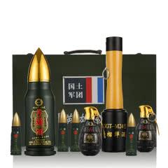 泸州原窖老酒 浓香型白酒军旅情怀 收藏小酒 英雄礼盒 8瓶套装
