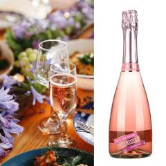 4.5°维科尼娅 蜜桃味酒 汽泡酒 甜酒香槟 730ml单瓶装