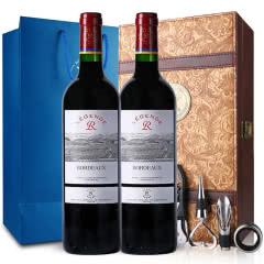 拉菲酒庄传奇系列 传奇波尔多红葡萄酒法定产区750ml(2瓶装)