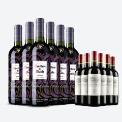 智利原瓶进口红酒 干露红魔鬼葡萄酒  红魔鬼魔域之火梅洛 整箱  750ml*6