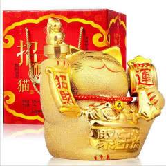 53°汾酒产地杏花村镇招财猫粮食酒送礼酒清香型白酒礼盒装1500ml*1【扫码价1680】