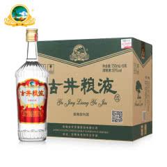50° 古井贡酒 古井粮液 750ml*6 整箱装 国产浓香型白酒