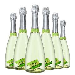 4.5度【葡萄味】维科尼娅 甜型汽泡酒低度少女葡萄酒 730ml*6整箱装