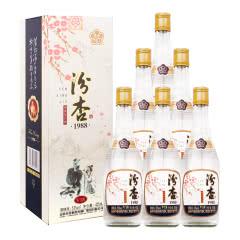 53°汾杏股份出品 汾杏V18卡盒 清香型白酒  425ml*6瓶奢华礼盒 整箱装