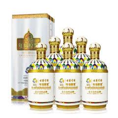 45° 古井贡酒 年份原浆 哈萨克斯坦世博纪念酒 750ml*6 口感 浓香型白酒 整箱装